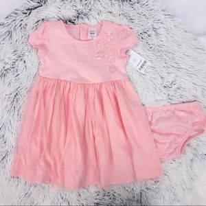 NWT Carters 2 Piece Dress Set 18 months